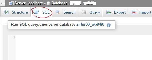WordPress-SQL-Window-Selection
